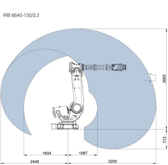 IRB 6640 IRC5 M2004 3200 mm alcance